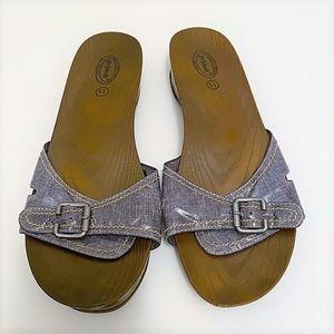 Dr. Scholls Advanced Comfort Series Slip on Sandal
